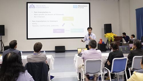 Đại học Hoa Sen chú trọng nâng cao kiến thức chuyên môn và kỹ năng sư phạm.