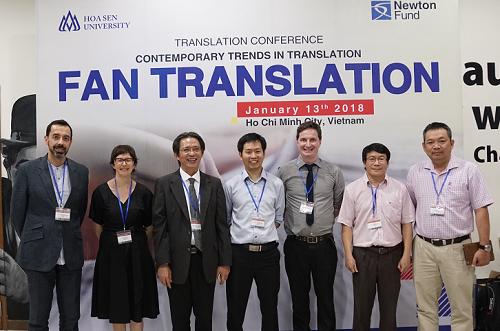 Hội thảo dịch thuật bồi dưỡng kiến thức cho học viên được tổ chức tại Đại học Hoa Sen.