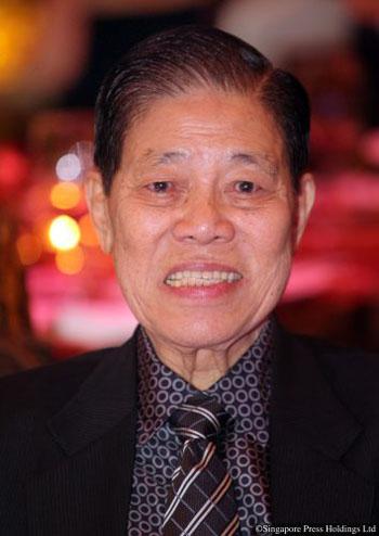 Tỷ phú ngành sơn Goh Cheng Liang. Ảnh: SPH.