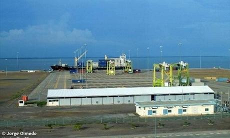 Cảng La Union. Ảnh: MarineTraffic.com.