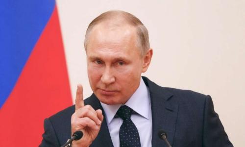 Tổng thống Nga Putin. Ảnh: Reuters.