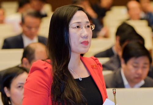 Bà Nguyễn Thị Thủy, Thường trực Ủy ban Tư pháp. Ảnh: QH