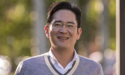 Lee Jae-yong, thái tử của tập đoàn Samsung ước tính có tài sản riêng 7 tỷ USD. Ảnh: Bloomberg.