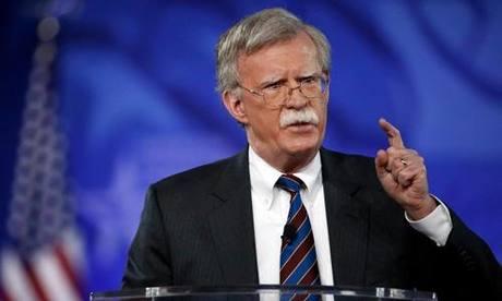 [Caption]Ảnh: Cố vấn An ninh quốc gia Mỹ John Bolton. Ảnh: AP.