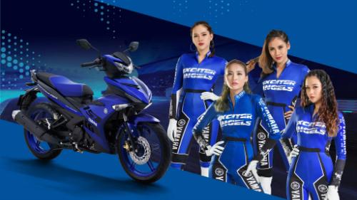 Yamaha Exciter 2019 phiên bản màu xanh GP.