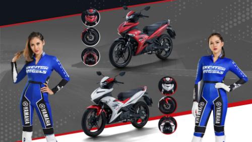 Yamaha Exciter 2019 sở hữu 5 màu sẽ phới mang phong cách tương phản.