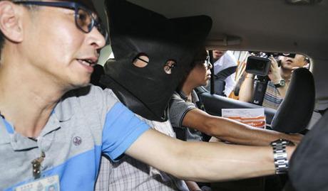 Khaw Kim-sun bị bắt vào tháng 9/2017 vì cáo buộc giết vợ con. Ảnh: SCMP.