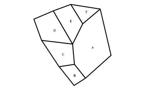 Đáp án bài toán tiếng Anh tô màu bản đồ