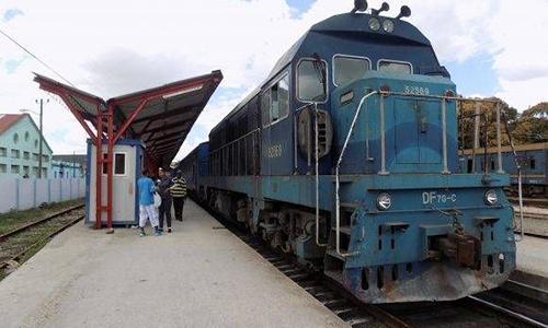 Bến đường sắt ở Cuba. Ảnh: Cuba News Agency.