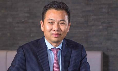 Yang Zhihui, chủ tịch tập đoàn phát triển sòng bạc Landing International Development. Ảnh: IC.