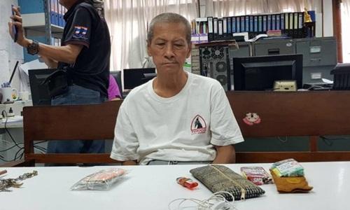 Suphachai Suthiyano bị bắt hôm 19/8. Ảnh: Khaosod English.
