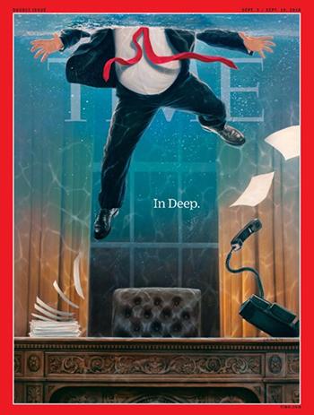 Trang bìa của tạp chí Time sắp xuất bản. Ảnh: Time