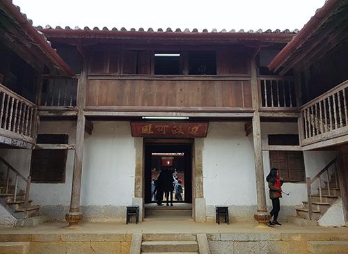 Dinh thự họ Vương tại xã Sà Phìn (Đồng Văn, Hà Giang). Ảnh: Ngọc Thành.