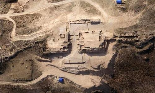 Shimao là tàn tích thành phố tiền sử lớn nhất từng được tìm thấy ở Trung Quốc. Ảnh: CCTV.