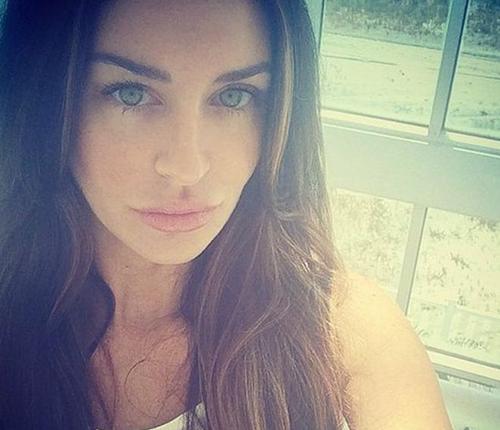Cựu người mẫu Playboy Christina Carlin-Kraft. Ảnh: BBC