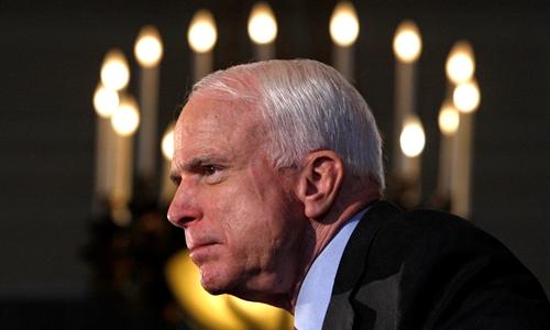 John McCain tại Ottawa tháng 6/2008. Ảnh: Reuters.