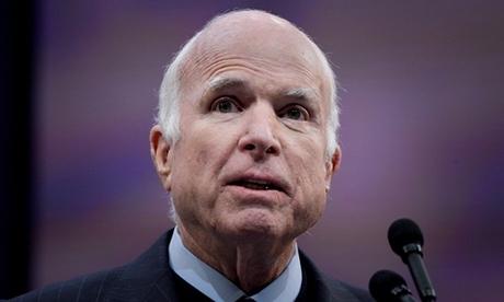 John McCain tại Pennsylvania ngày tháng 10/2017. Ảnh: Reuters.