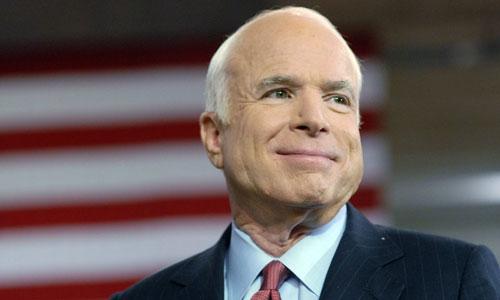 Thượng nghị sĩ John McCain trong chiến dịch tranh cử năm 2008. Ảnh: Reuters.