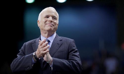 Thượng nghị sĩ John McCain. Ảnh: Reuters.