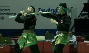 Việt Nam giành HC bạc pencak silat biểu diễn