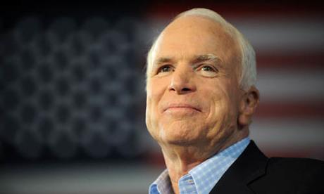 Thượng nghị sĩ John McCain, chính trị gia qua đời ở tuổi 81 vì ung thư não hôm 25/8. Ảnh: AFP.