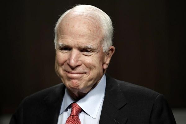 Thượng nghị sĩ Mỹ John McCain. Ảnh: Reuters.