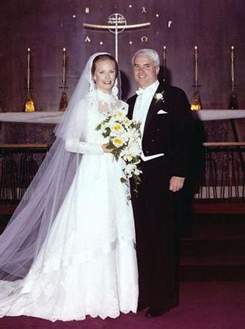 John và Cindy McCain trong ngày cưới năm 1980. Ảnh: Cindy McCain