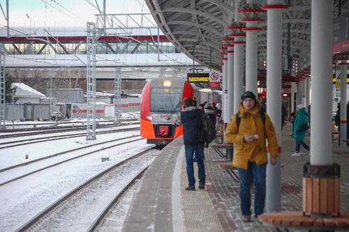 Sân ga Severyanin. Ảnh: Mos.ru.