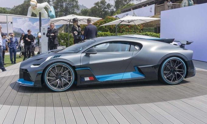 Bugatti Divo - biểu tượng mới siêu xe thể thao giá 5,8 triệu USD