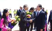 Chủ tịch nước Trần Đại Quang thăm Đại sứ quán Việt Nam tại Ai Cập