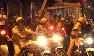 CSGT huy động lực lượng đảm bảo trật tự sau trận Việt Nam - Syria