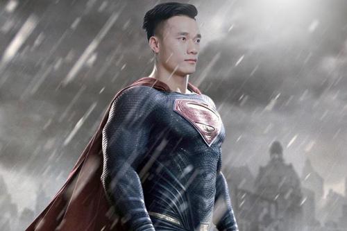 ...mình đúng là siêu nhân...