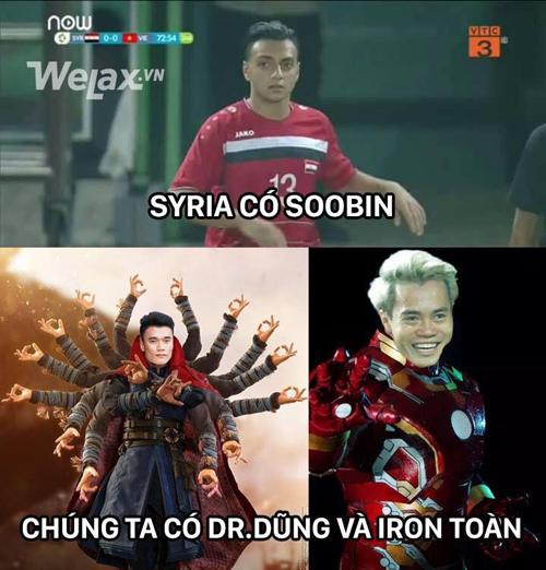 Syria có Soobin thì Việt Nam có nhiều hơn thế.