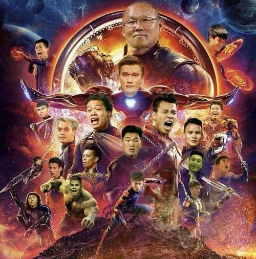 Biệt đội siêu anh hùng là đây chứ đâu.