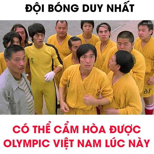 Giờ chỉ có những đội bóng giả tưởng thế này mới hy vọng đánh bại được Olympic Việt Nam.