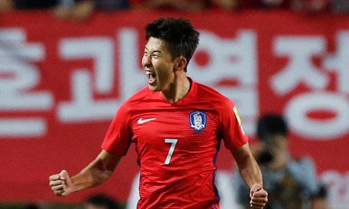 Cầu thủ bóng đá Hàn Quốc Son Heung-min. Ảnh: Reuters.