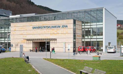 Đại học Jena, ngôi trường mà du học sinh Trung Quốc đang theo học. Ảnh: Peoples Daily.