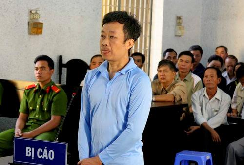 Bị cáo Y Tuyến Ksơr. Ảnh: Quang Hưng