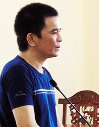 Bị cáo Nguyễn Thanh Tài. Ảnh: Hưng Lợi