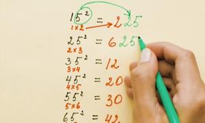 Những mẹo tính toán bạn không được học ở trường