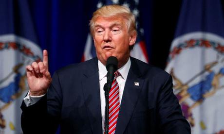 Tổng thống Mỹ Donald Trump. Ảnh: AP.
