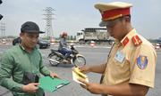 Phạt nguội các xe vi phạm trên cao tốc ở Hà Nội
