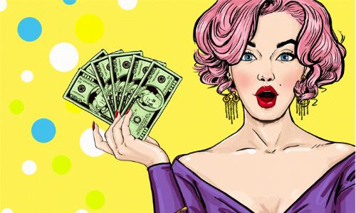 Thơ vui hài hước giữa tiền và vợ
