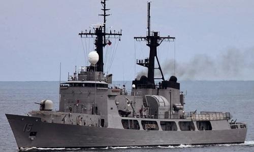 Tàu chiến Philippines đâm vào bãi cạn ở Trường Sa