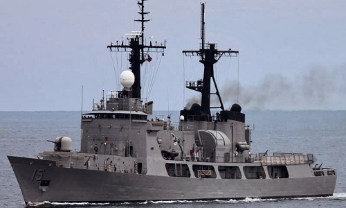 Tàu hộ vệ BRP Gregorio del Pilar của hải quân Philippines. Ảnh: Max Defense Philippines.