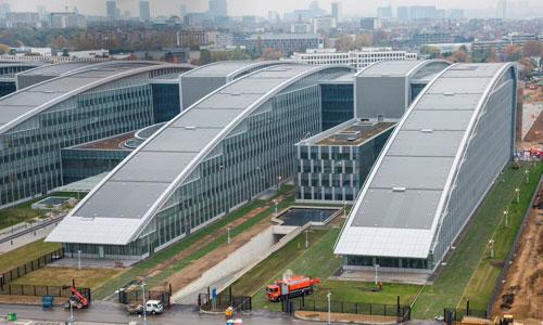 Trụ sở mới của NATO tại Brusels.  Ảnh: NATO.