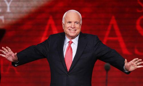 Thượng nghị sĩ John McCain. Ảnh: CNN.