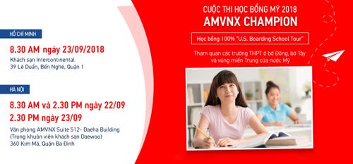 Cuộc thi sẽ diễn ra tại Hà Nội và TP HCM.