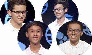 Bốn gương mặt tranh tài tại chung kết Olympia 18