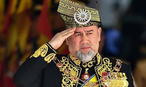 Quốc vương Malaysia Sultan Muhammad V. Ảnh: AFP.
